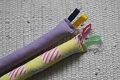 Hračky - Úchopové hrkálky štvorčeky - 10734164_