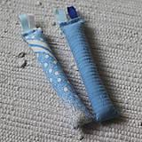 Hračky - Úchopové hrkálky modré - 10734174_