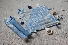 Hračky - Úchopové hrkálky modré - 10734179_