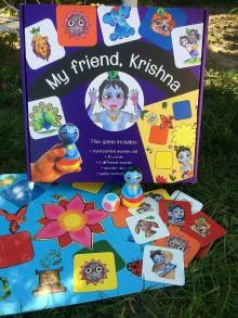 Hračky - My friend , Krishna!  Stolova hra pre deti - 10738303_