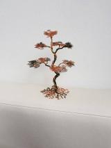 Dekorácie - Stromčeky s drôtu 3 - 10738425_