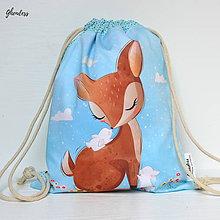 Detské tašky - Vak na záda - Koloušek s králíčky - 10737719_