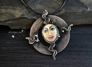 Náhrdelníky - Symbol Slunce... - 10738408_