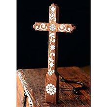 Dekorácie - Kríž maľovaný III. - 10737777_