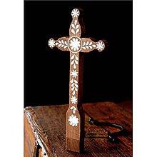 Dekorácie - Kríž maľovaný IV. - 10737797_