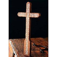 Dekorácie - Kríž maľovaný II. - 10737841_