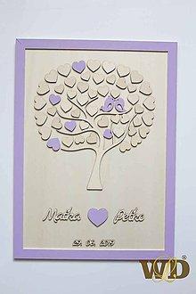 Papiernictvo - Svadobný strom do 60 ľudí - 10739024_