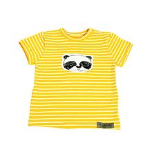 60a503f94d Detské oblečenie - BIO pííískacie tričko Panda žlté - 10739345