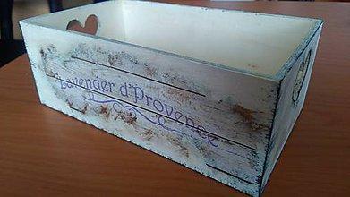 Nábytok - doplnky do bytu (krabička vintage) - 10738712_