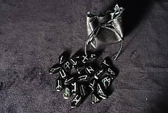 Nezaradené - Runové kamene (Obsidián) - 10739305_