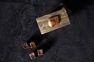 Nezaradené - Runové kocky (Meď/Bronz) - 10739279_