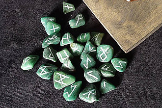 Nezaradené - Runové kamene (Jadeit) - 10739318_