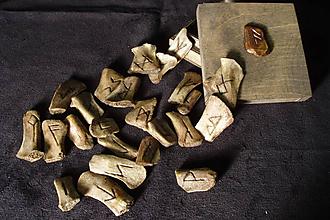 Nezaradené - Runové kamene kostené - 10739335_