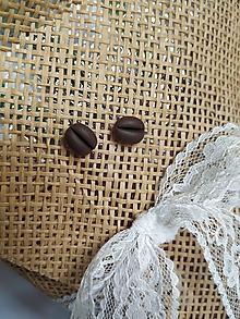 Náušnice - Pre milovníkov kávy - 10739188_