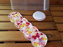 Úžitkový textil - Odličovacie tampóny 12 kusů - 10738100_