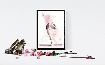 Obrazy - tanečnica - print - 10738315_