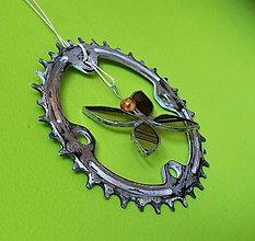 Dekorácie - Ozubené koleso - 10739420_