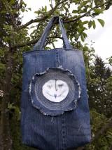 Veľké tašky - Taška riflova - 10739385_