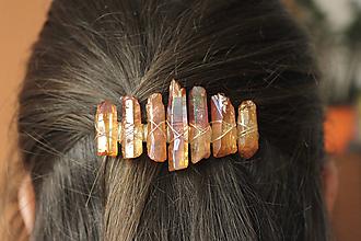 Ozdoby do vlasov - Spona do vlasov - 10738937_