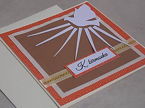 Papiernictvo - ...pohľadnica k birmovke... - 10739490_