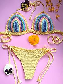 Bielizeň/Plavky - Háčkované plavky - Viki - 10738914_