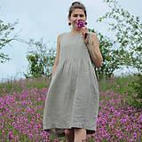 - Ľanové šaty Rodana - 10739936_
