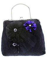 Kabelky - dámská kabelka Spoločenská čipková kabelka čierná jj6 - 10740828_