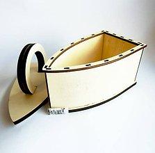 Polotovary - Žehlička z preglejky, 20x17 cm - 10739937_