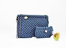 Kabelky - Set kabelka + púzdro Jeans natur - 10740907_