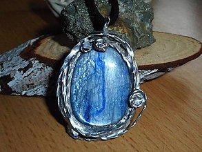 Náhrdelníky - oceam dream blue-kyanit distén - 10741602_