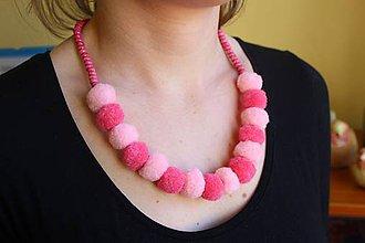 Náhrdelníky - Usmej sa na mňa: Dámsky šperk (Cukríková dáma) - 10740657_