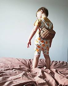 Detské oblečenie - Overal citrus - 10739861_