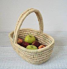 Košíky - Darčekový košík s rukoväťou - 10740223_