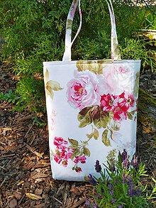 Veľké tašky - Taška PINK ROSE:-) - 10740581_