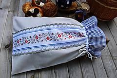 Úžitkový textil - Vrecúško na chlieb - 10739801_