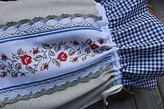 Úžitkový textil - Vrecúško na chlieb - 10739804_