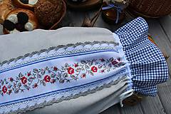 Úžitkový textil - Vrecúško na chlieb - 10739808_