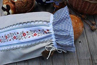 Úžitkový textil - Vrecúško na chlieb - 10739807_