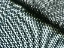 Textil - Lenny Lamb Little Herringbone Amazonite - 10740411_