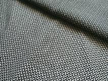 Textil - Lenny Lamb Little Herringbone Black - 10740422_