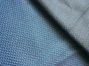 Textil - Lenny Lamb Little Herringbone Cobalt - 10740389_