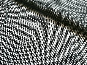 Textil - Lenny Lamb Little Herringbone Black - 10740422_