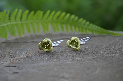 Zelené ružičky