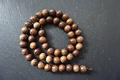 Korálky - Santálové drevo 8-M19 - 10740155_