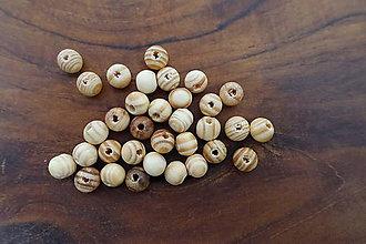 Korálky - Drevené korálky 8-M18-H3 - 10740033_