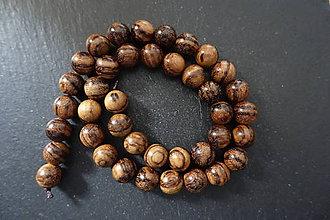 Korálky - Drevená korálka 10-M19-1 - 10740082_