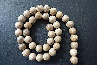 Korálky - Drevená korálka 10-M19-2 - 10740103_