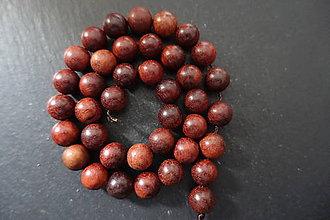 Korálky - Santálové drevo 10-M19 (1) - 10740112_