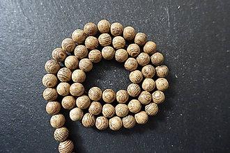 Korálky - Santálové drevo 6-M19 (1) - 10740187_