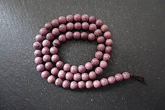 Korálky - Santálové drevo 6-M19 (5) - 10740209_